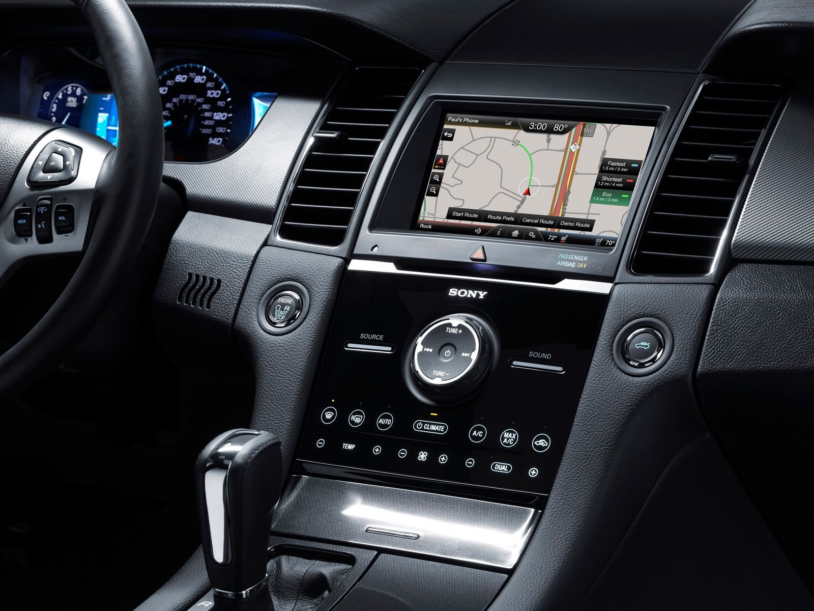 2015 ford taurus sho dashboard cool car design wallpaper. Black Bedroom Furniture Sets. Home Design Ideas