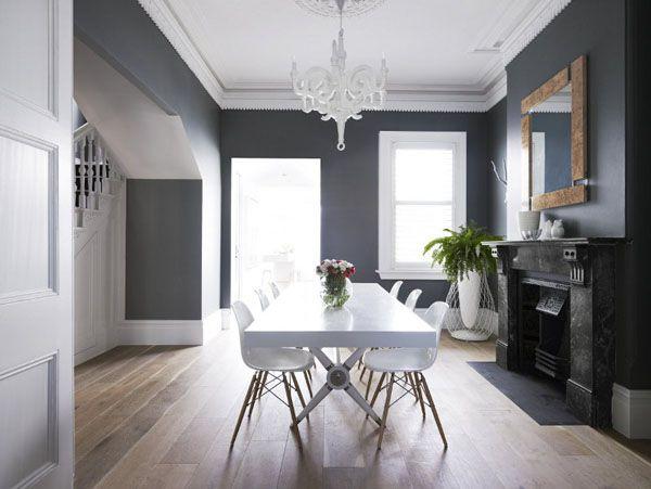 Salon Gris Anthracite  Une Ambiance Moderne Et Dco  Correspondant