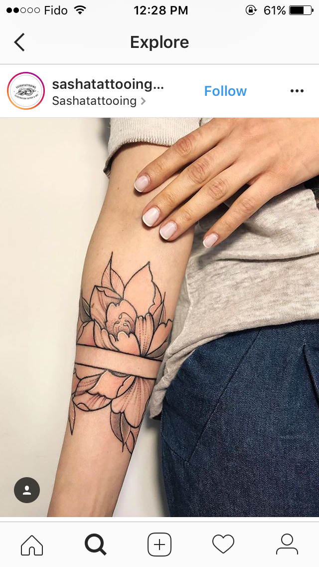 For separation of floral and geometric