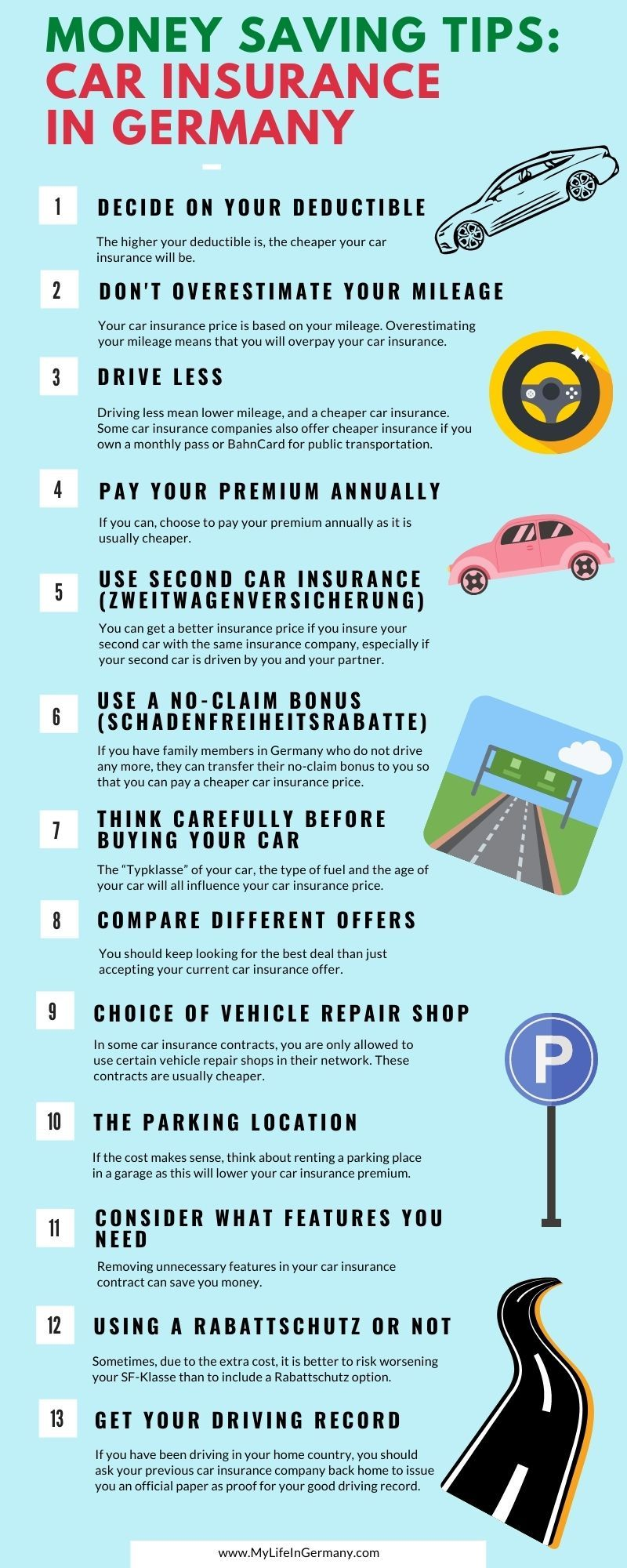 Car Insurance In Germany 13 Ways To Save Money In 2020 Germany Car Insurance Ways To Save Money