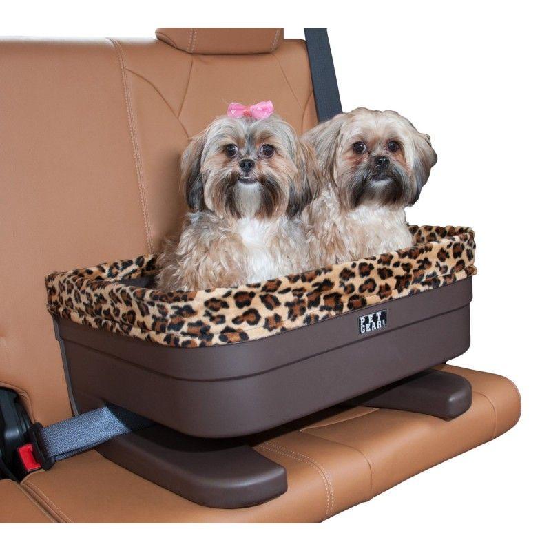 Chocolate jaguar 17 bucket booster dog car seat pet