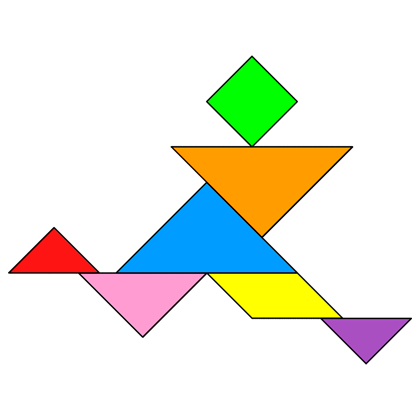tangram runner tangram solution providing teachers and pupils with tangram puzzle activities