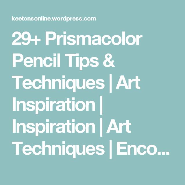 29+ Prismacolor Pencil Tips & Techniques | Colored pencils, Pencil ...