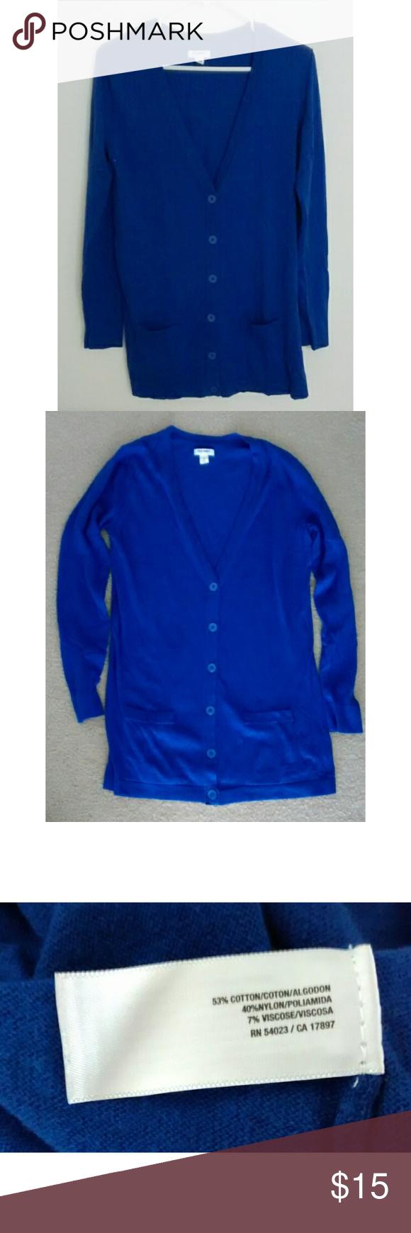 Blue Boyfriend Cardigan (Old Navy) | Boyfriend cardigan, Perfect ...