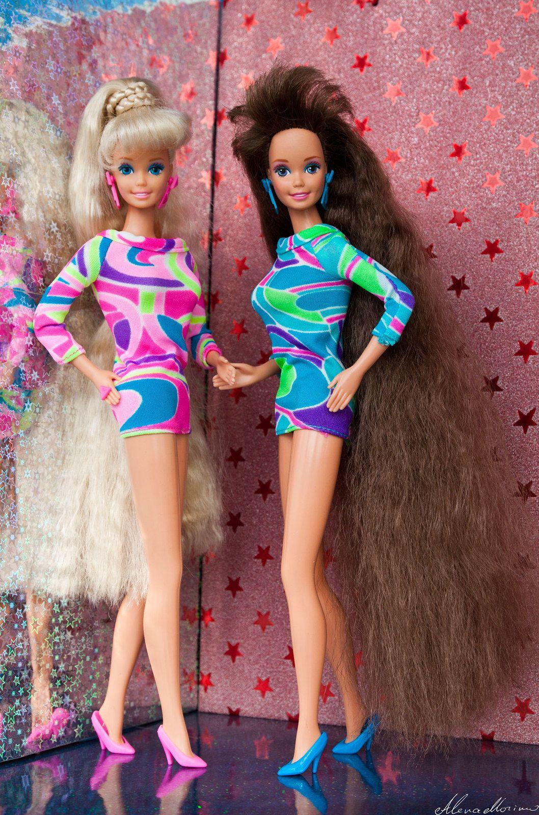 Totally Hair Barbie Doll 1992 Totally Hair Barbie Vintage Barbie Clothes Barbie