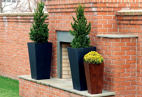Products Square Planters Ella Tall Brand Sold At Lunt And Kellyu0027s