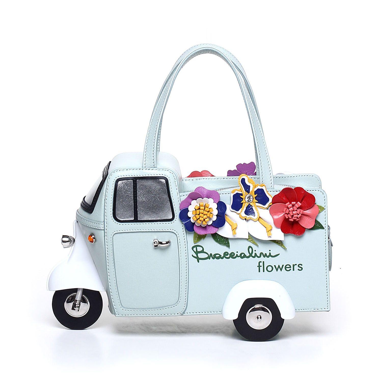 Borse Braccialini A Torino : Flower express braccialini scooter bag haute