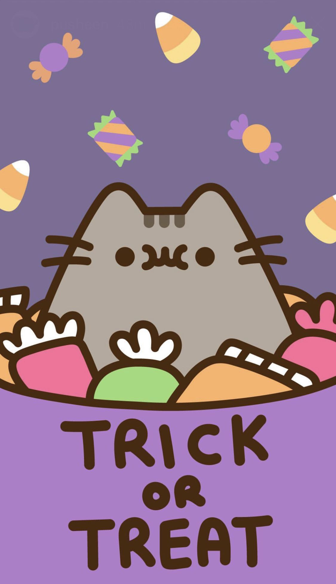 Pusheen Halloween Wallpaper Pusheen Cute Pusheen Cat Halloween Wallpaper