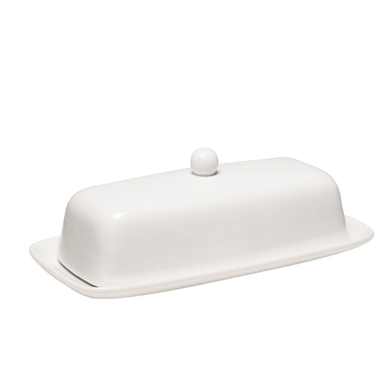 butter dish coordinates w corelle white shop world kitchen - Shop World Kitchen