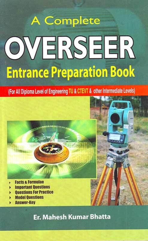 A COMPLETE OVERSEER ENTRANCE PREPARATION BOOK