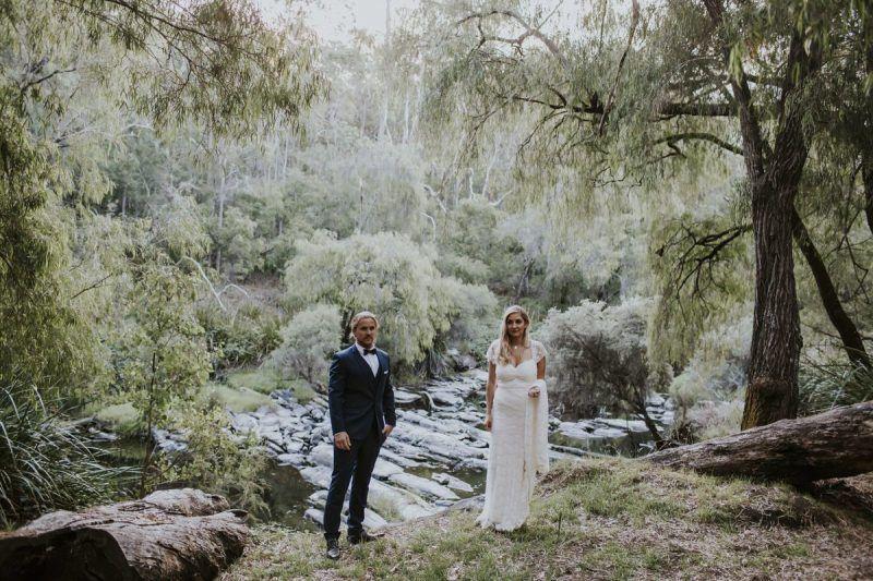 REAL WEDDING: Brittany + David - Stonebarn - WedShed