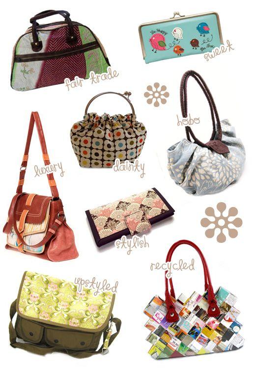 Handmade Bags And Purses Clutches Handbags