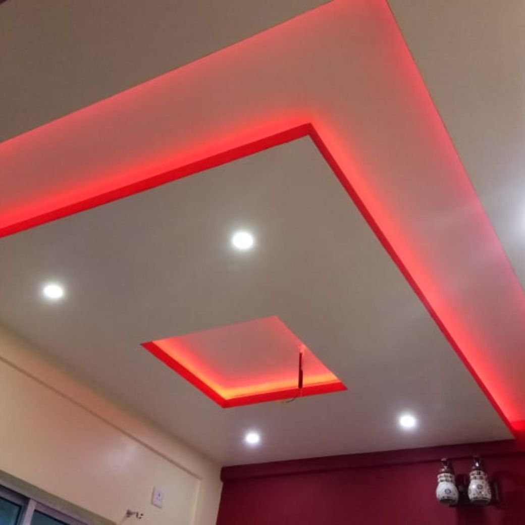 False Ceiling On Going Work 3bhk Flat In Kolkata We Won The