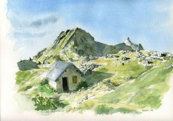 Tableau Peinture Montagne Vercors Isere Grand Veymond Paysages