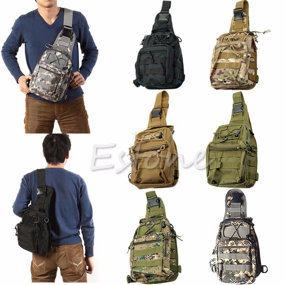 Outdoor Military Tactical Sac à Dos Sac À Dos Sport Trekking Camping Randonnée Sac