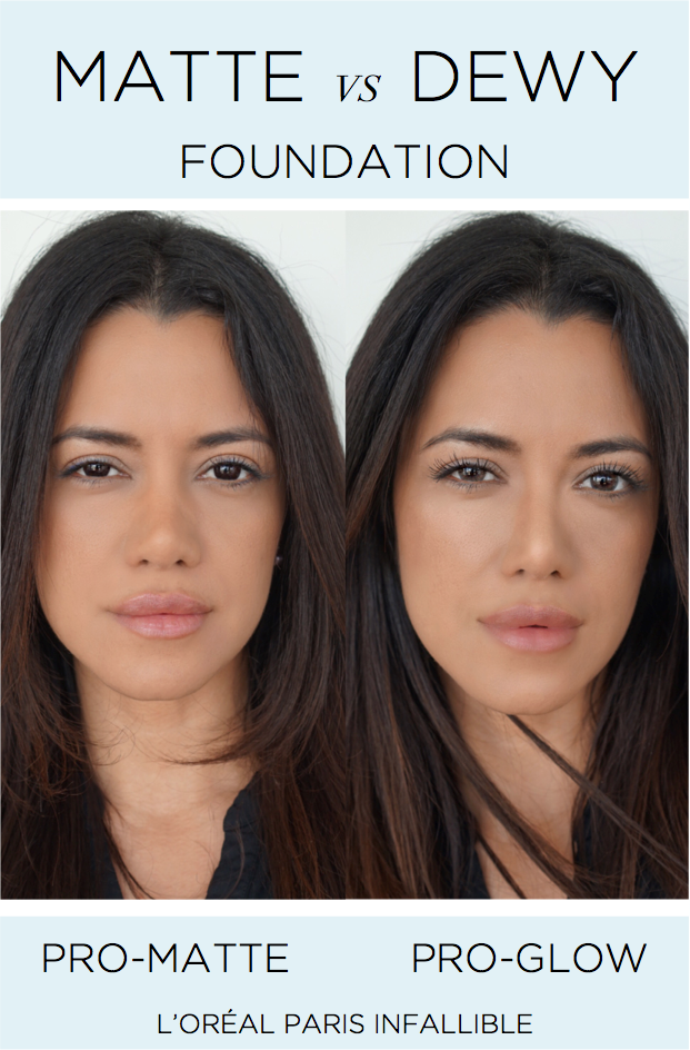 how to make your matte foundation dewy