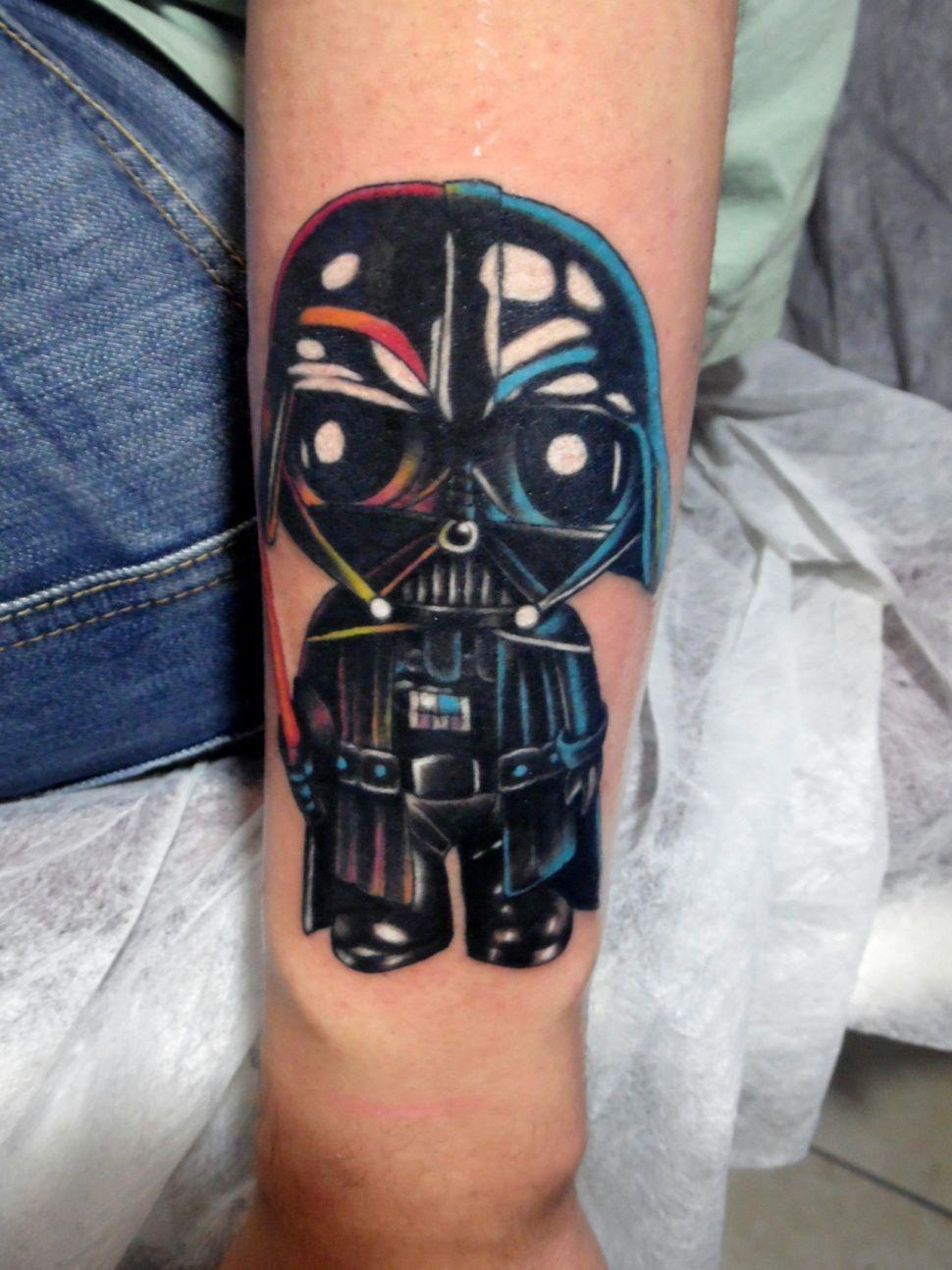 Stewie Vader tattoo done at Yavuz Simgeci Tattoo Studio | Stewie ... - Tattoo Studio Bielefeld