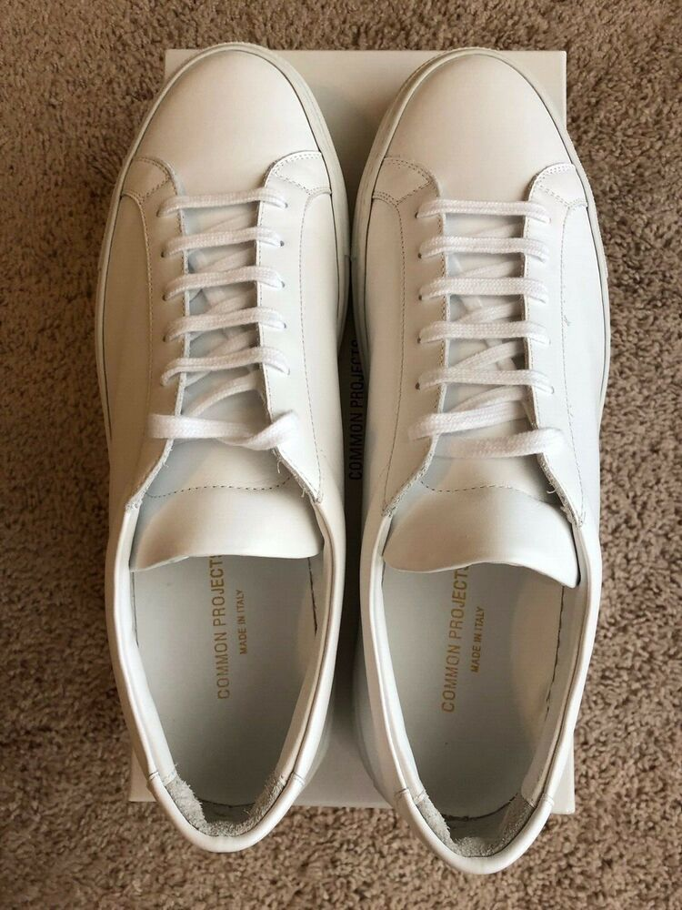 8ef4e0038ccf common projects achilles low white mens size 46 EU  fashion  clothing   shoes  accessories  mensshoes  casualshoes (ebay link)
