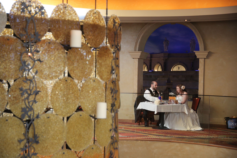 Modern Las Vegas Wedding Reception By Chapel Of The Flowers All