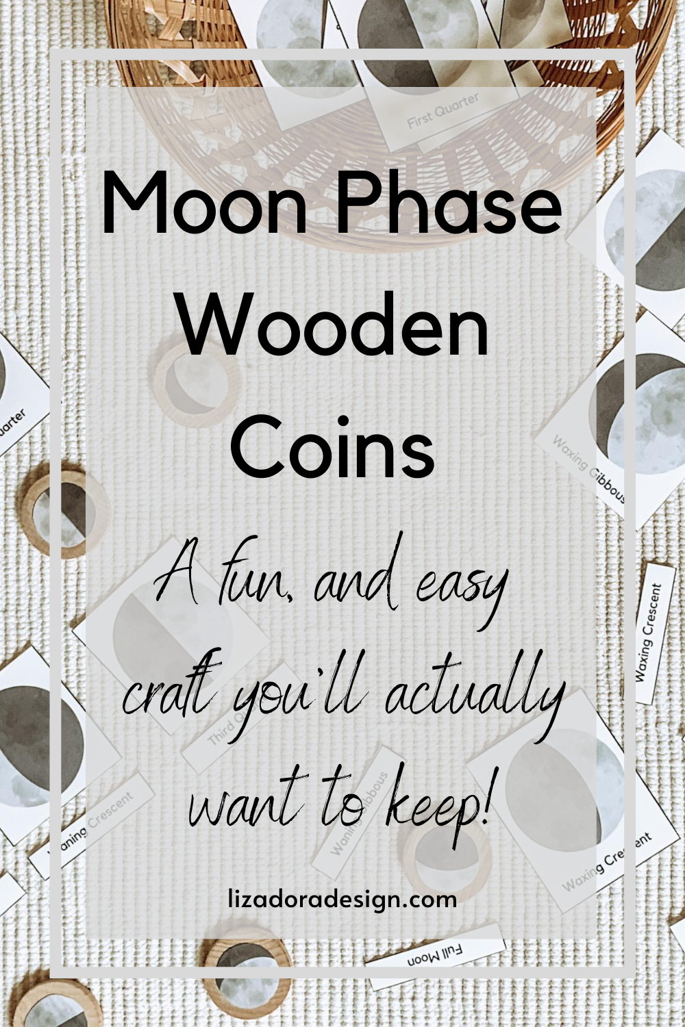 Diy Moon Phase Coins Moon Activities Moon Phases Moon Unit [ 1500 x 1000 Pixel ]
