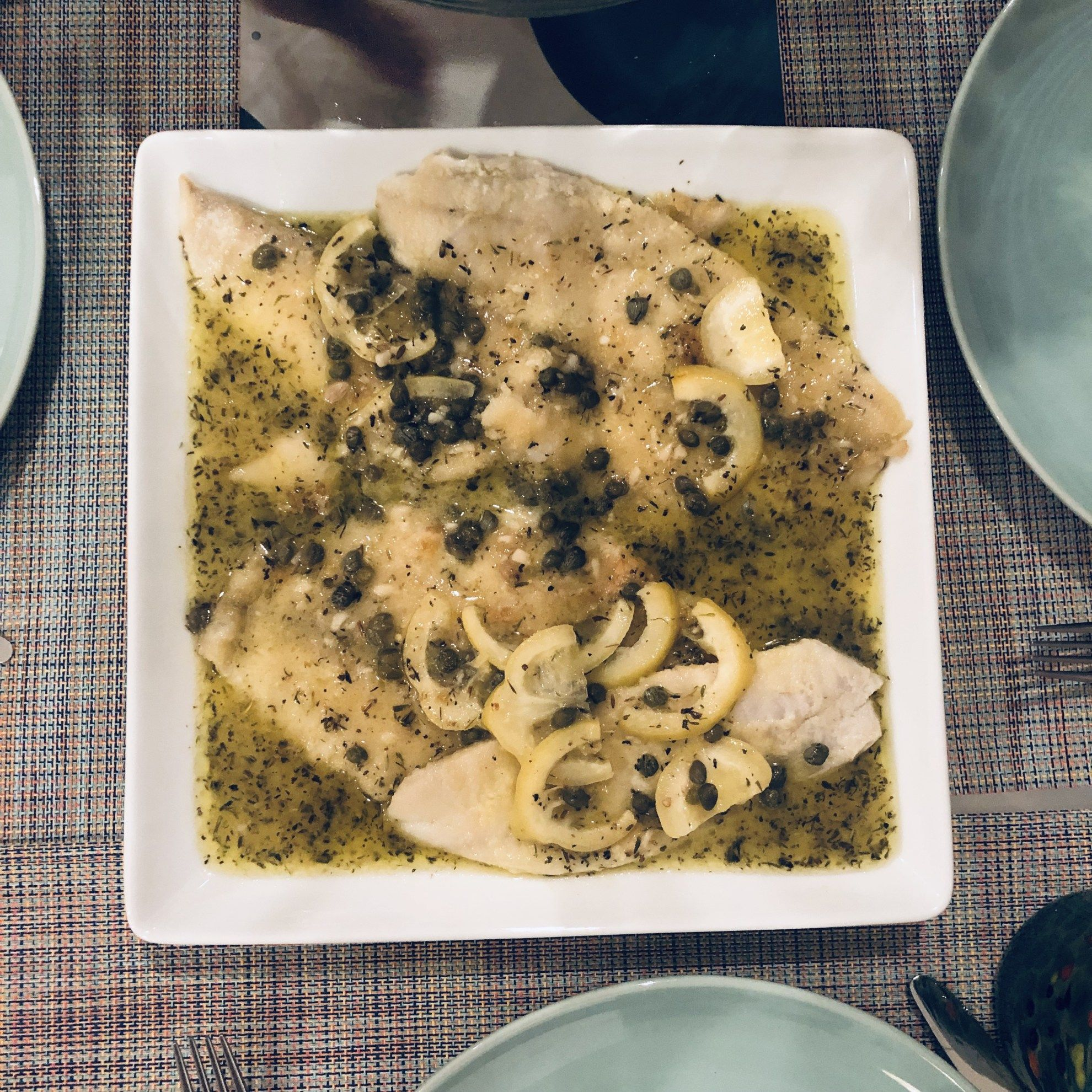 Photo of Sole Filet in Lemon-Caper Sauce