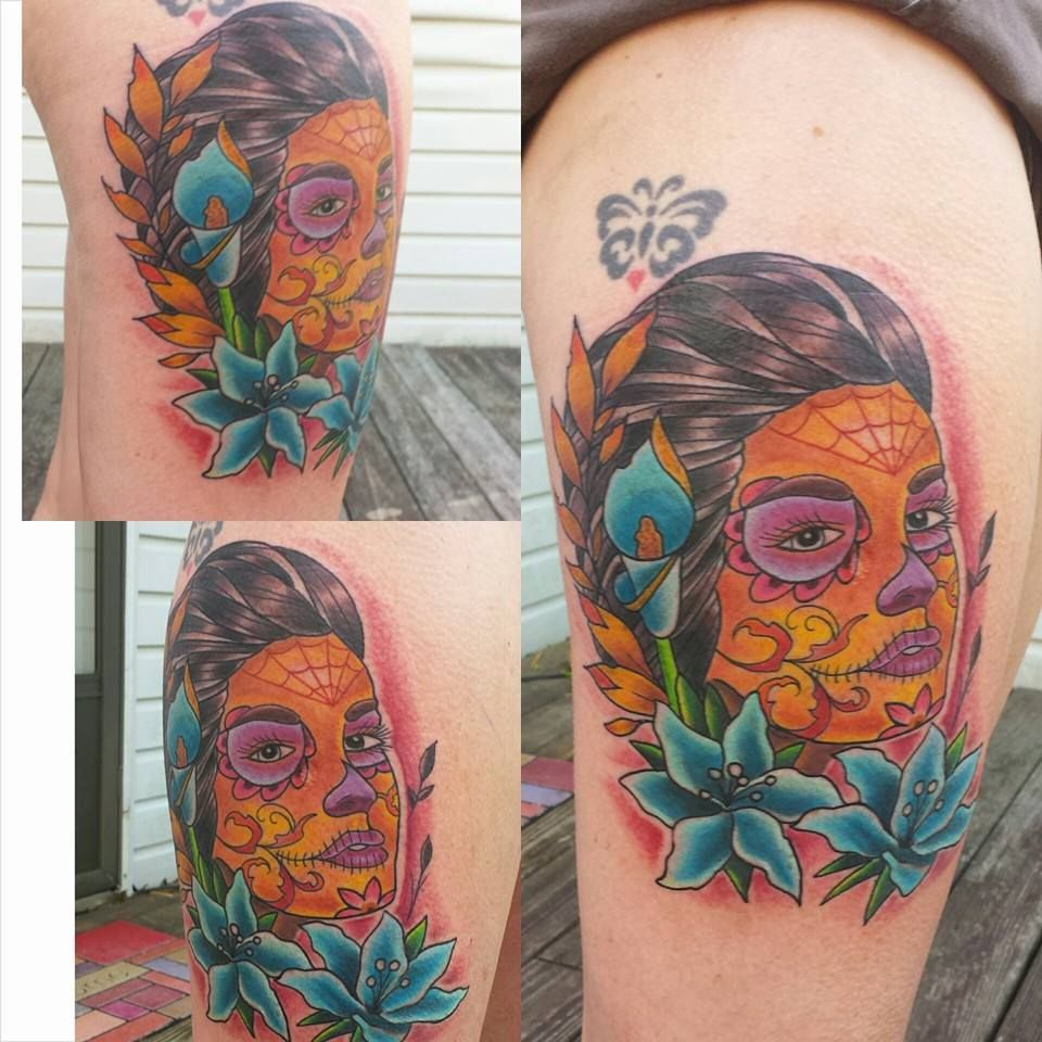 4b2d1de6a Elijah Blackwell - Sink or Swim Tattoo | Tattoo - Day of the Dead ...