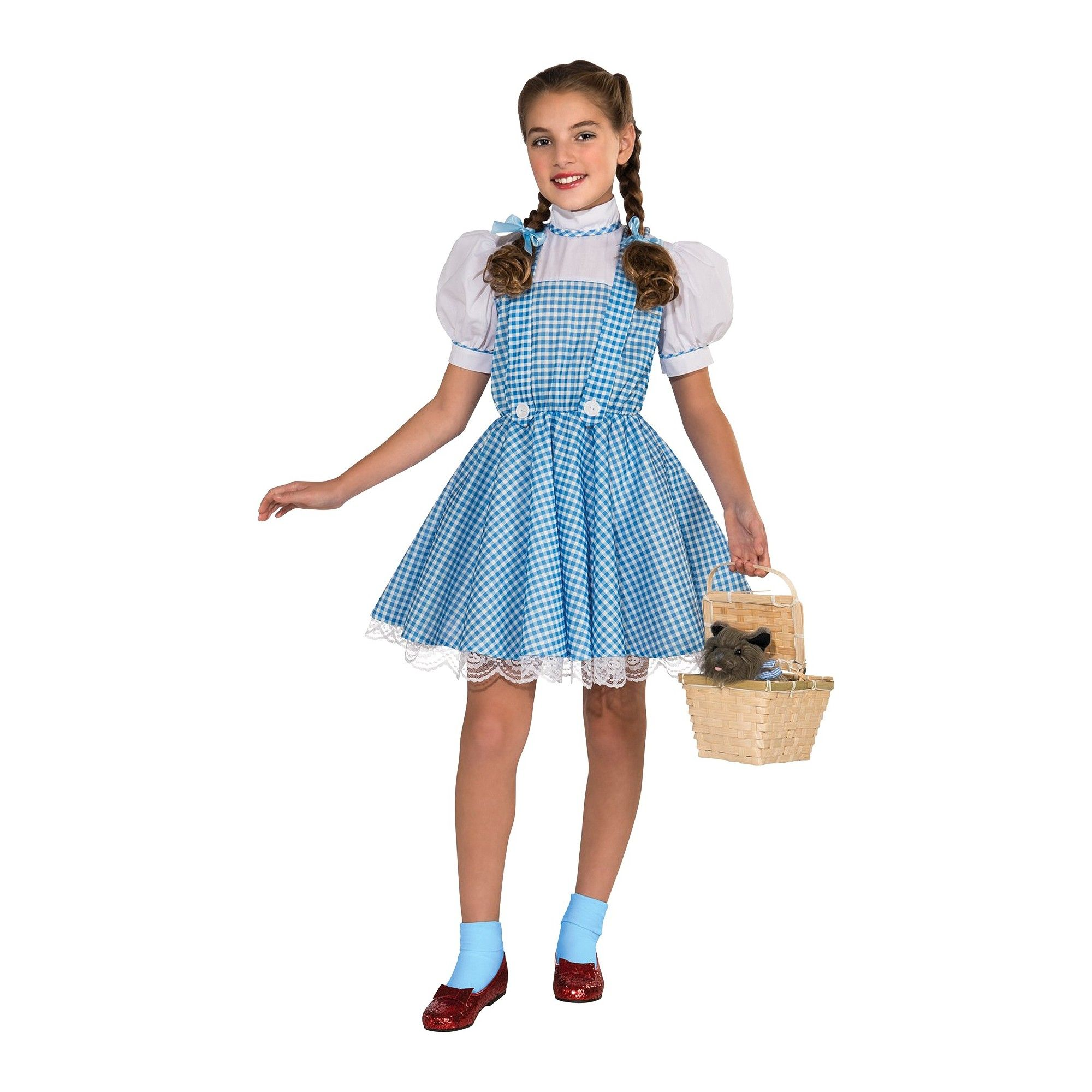 Halloween The Wizard of Oz Girlsu0027 Dorothy Costume Medium Size Variation Parent  sc 1 st  Pinterest & Halloween The Wizard of Oz Kidsu0027 Dorothy Costume Small (4-6) Girlu0027s ...