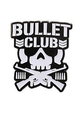 New Japan Pro Wrestling Bullet Club Logo Enamel Pin Bullet Club Logo Japan Pro Wrestling Pro Wrestling