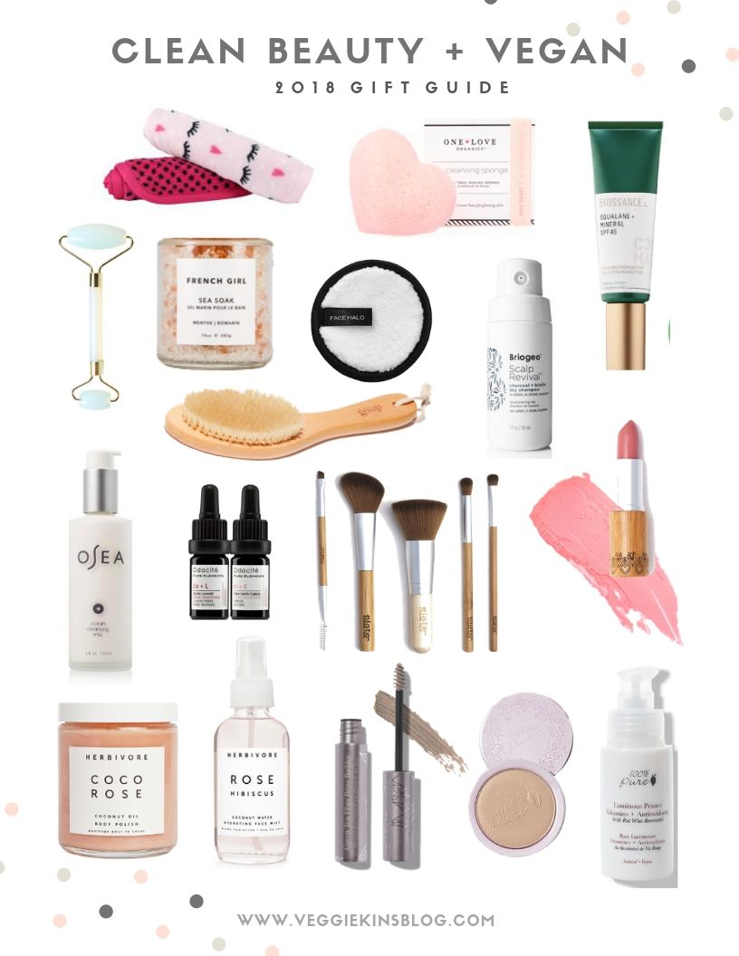 Clean Beauty Gift Guide #organicmakeup