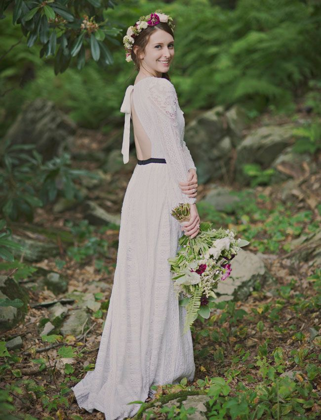 Vintage Bohemian Mountain Wedding Carolyn Trevor Free People