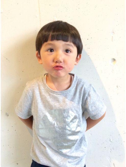 エイブル ぼっちゃん風 キッズカット 男の子 赤ちゃんの髪 子供