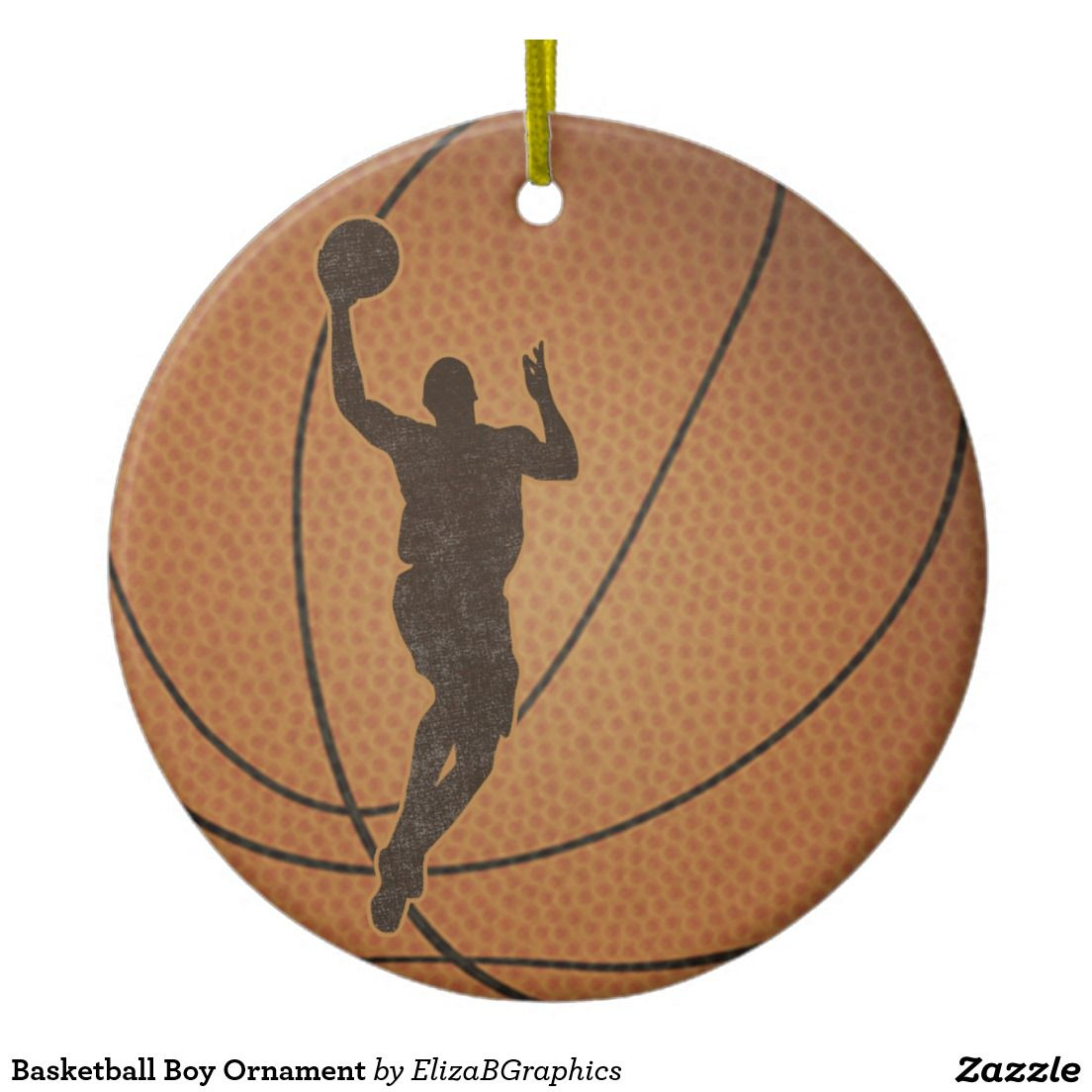 #basketball #boy #ornament #Christmas