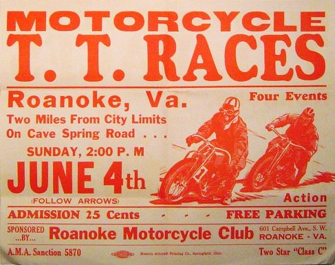 1938 Tt Poster Vintage Racing Poster Racing Racing Motorcycles