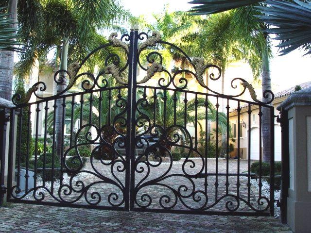 Ferforje Bah 231 E Kapıları 15 Ayvalık Wrought Iron Gate