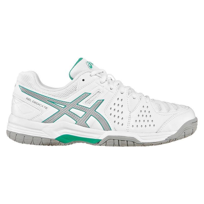 Asics Women's GEL Dedicate 4 Tennis Shoes, Size: 6.5, White
