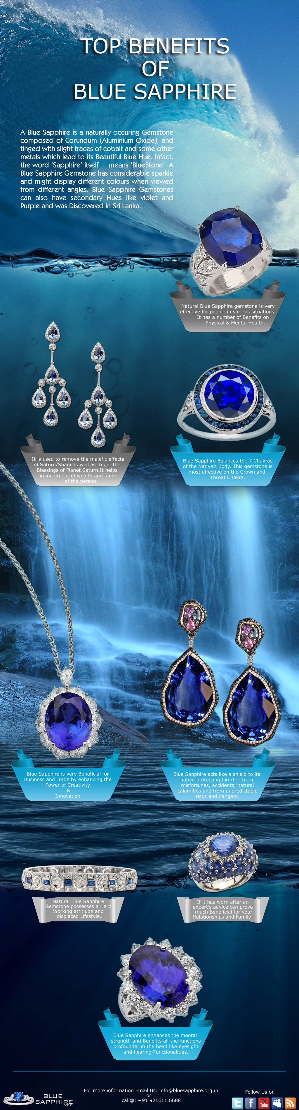 Blue Sapphire Is The Most Precious Gemstone In The Sapphire Family Blue Sapphire Is Said To Be The Gemst Gemstones Gemstone Prices Natural Gemstones