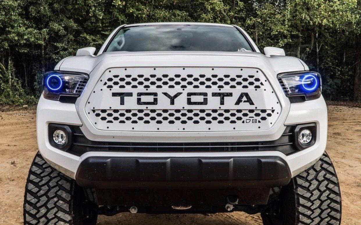 2016 2020 Tacoma Drop In Grille Insert Tacoma Accessories Tacoma Truck Tacoma Grill
