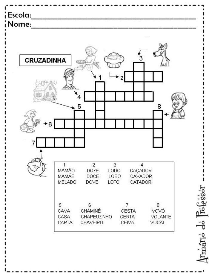 Sequencia Didatica De Chapeuzinho Vermelho Atividades