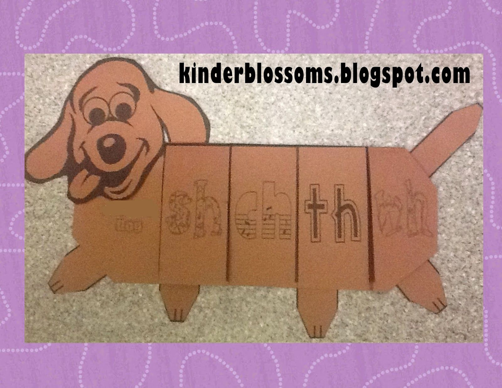Digraph Dog From Christina S Kinder Blossoms
