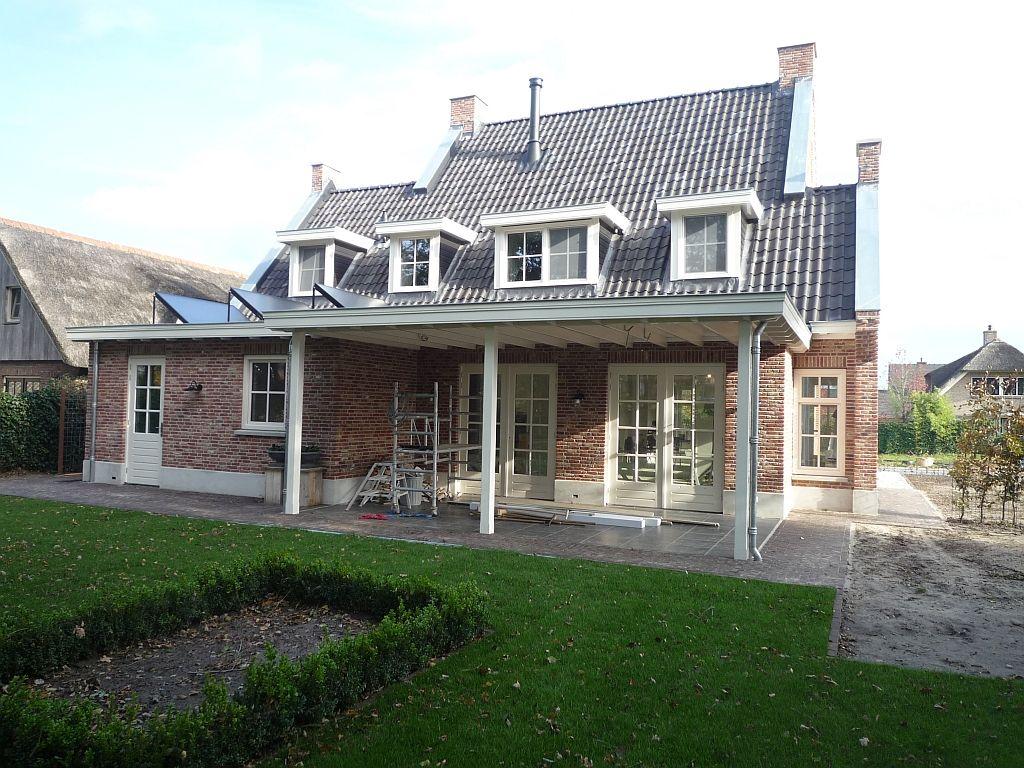 Nieuwbouw woning klassieke engelse stijl huis idee pinterest