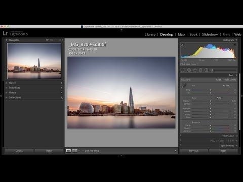 17 Minute Long 10 Stop Nd Filter Lightroom Retouch Matt Brodie Photographic Training Episode10 Photography Filters Lightroom Lightroom Tutorial