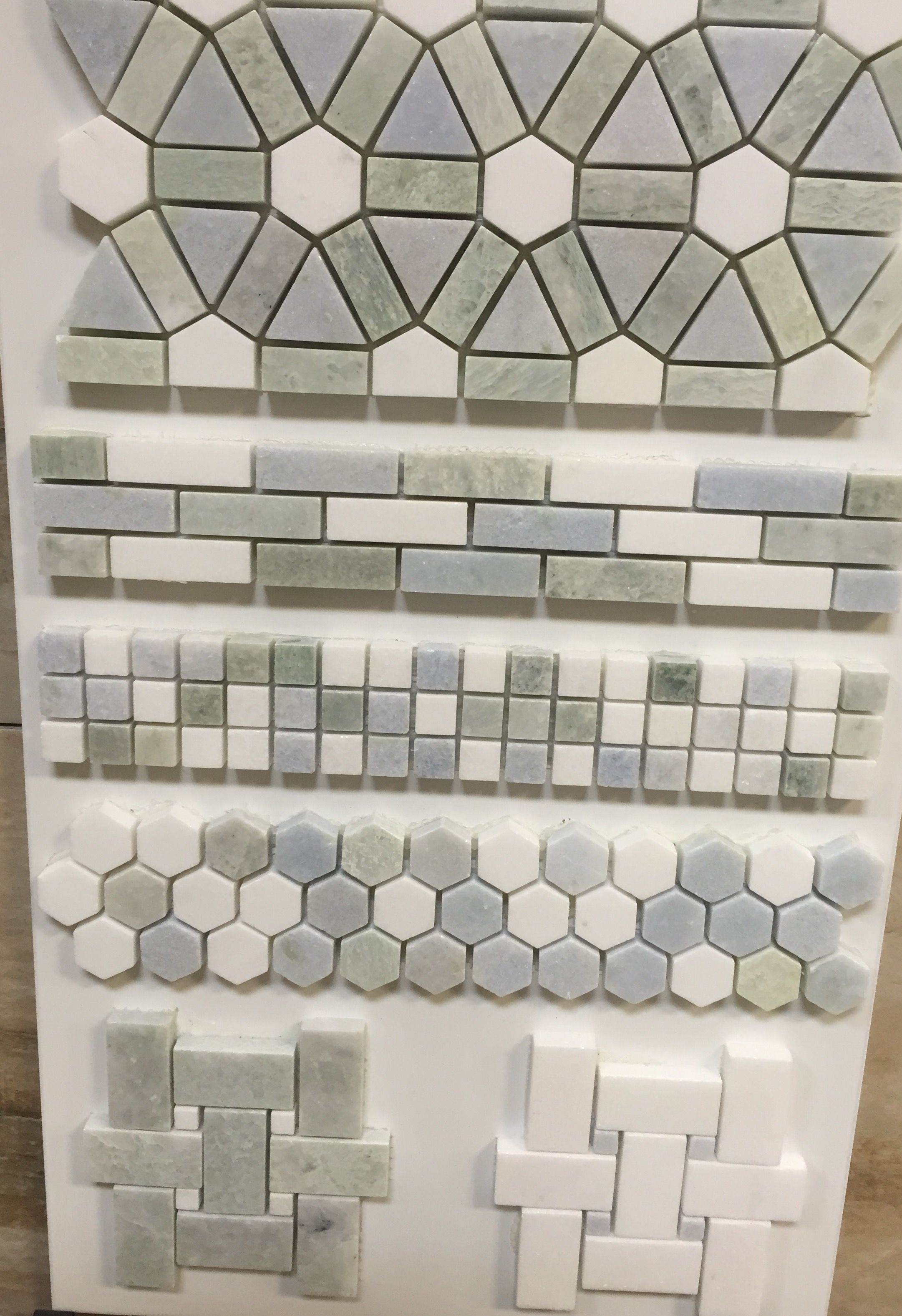 Second Floor Master Bath Tile for placement above vanity around ...