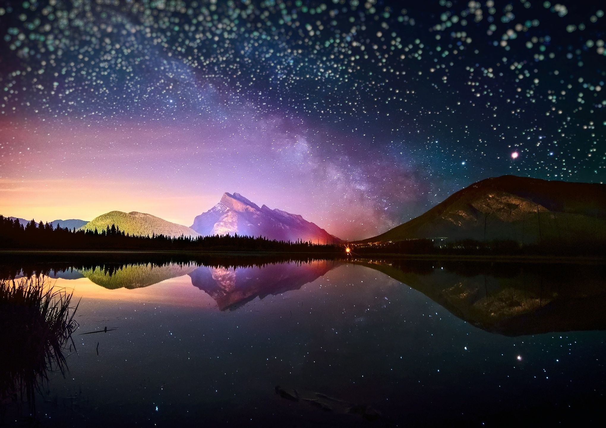 10 Best Starry Night Sky Wallpaper Hd FULL HD 1920×1080
