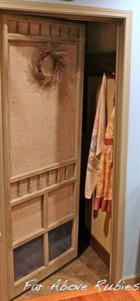 Best Ideas Of How To Reuse Old Doors 12