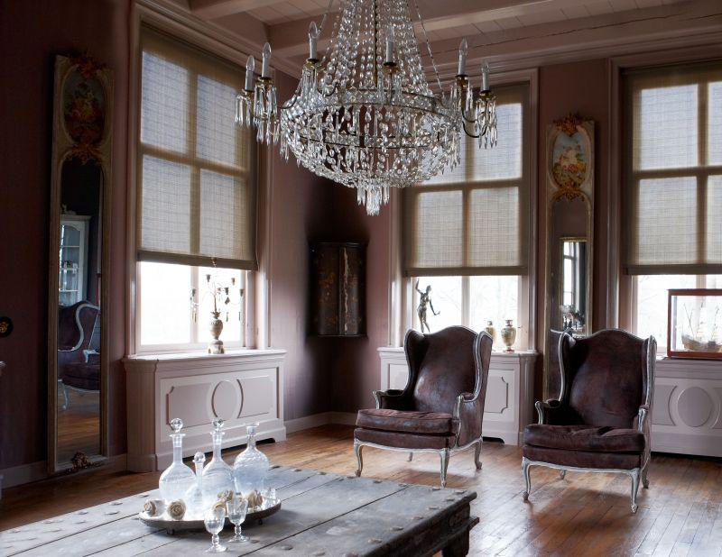 7x Klassiek Interieur : Collectie rolgordijnen in een romantische stijl. #interieur