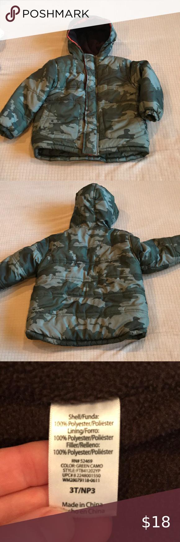Toddler Puffer Jacket Camo Colors Puffer Puffer Jackets [ 1740 x 580 Pixel ]