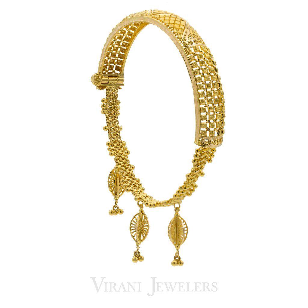 K gold bangle zevar pinterest gold bangles bangle and gold
