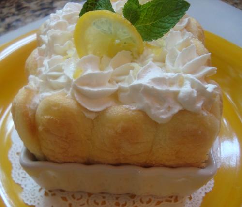 Lemon Chiffon Charlottes