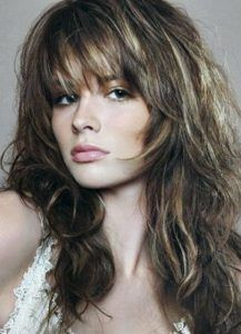 Medium Length Shag Hairstyles Enhanced Shagginess Medium Shag Haircut …  Pinteres…