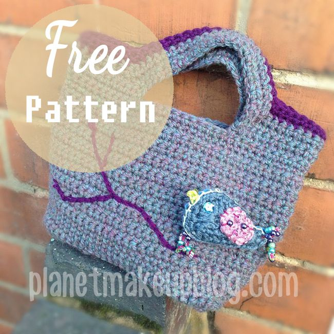 Photo birdbagfreecrochetpattern planetmakeupblogzpsad59f825g i wanted a quick project for a birthday present for a 3 year old i found this crochet bag pattern at futuregirl she uses the same patte dt1010fo